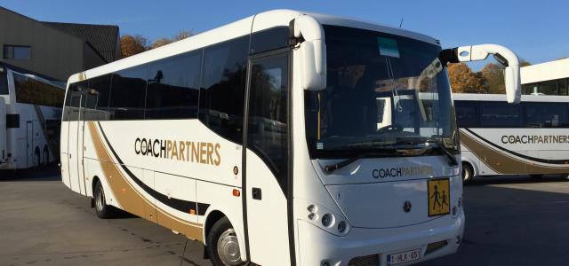 schoolbussen van Viamundi voor schoolvervoer